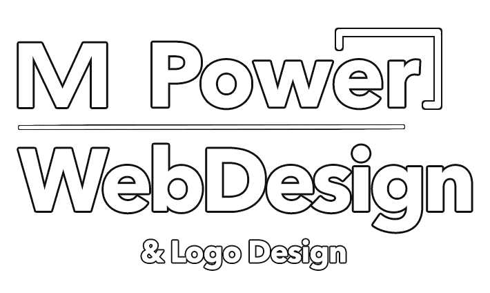 M-Power-web-design-logo-new-main-header-white-blacl-outline